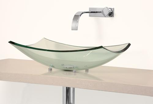 518curve  Acqua Design -> Cuba De Vidro Para Banheiro Em Bh