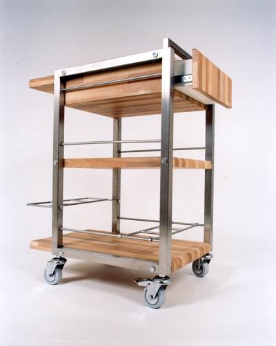 Aparador Buffete Zaiken Plus ~ Aparador para cozinha com rodízios Acqua Design