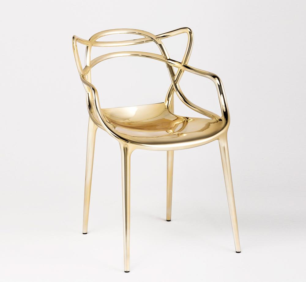 Kartell-Gold-Masterchair-Philippe-Starck-Salone-Del-Mobile-2014-3
