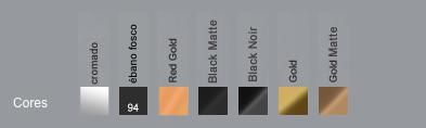 tabela de acabamentos DECA