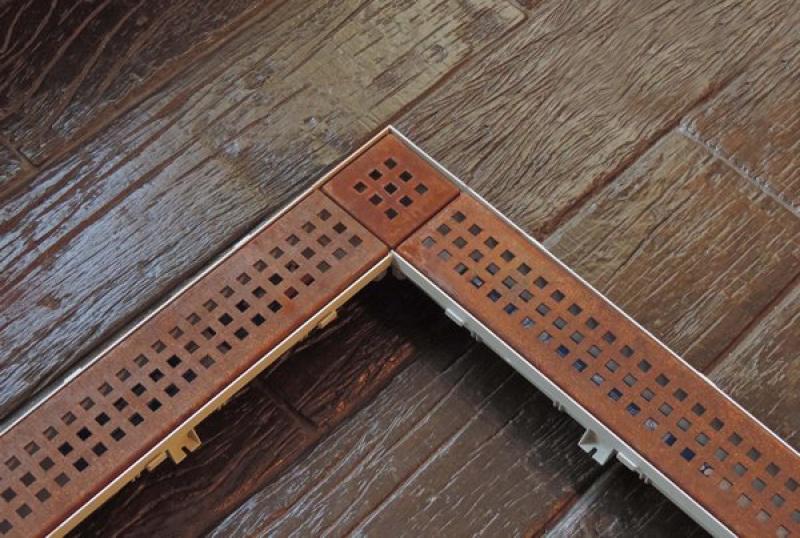 grelha corten quadratta conjunto