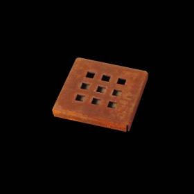uniao para grelha corten quadratta